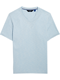 a4f6b50636c1 JOE Joseph Abboud Light Blue V-Neck T-Shirt