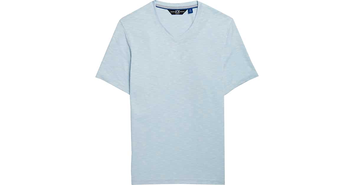 210d8f79f62a JOE Joseph Abboud Light Blue V-Neck T-Shirt - Men's Shirts | Men's Wearhouse
