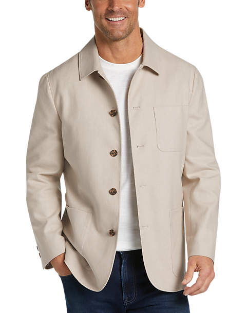Joseph Abboud Tan Casual Coat