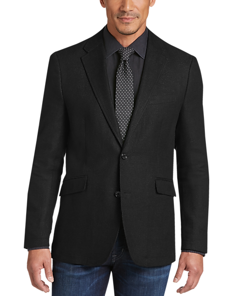 Joseph Abboud Black Casual Coat - Men's Casual Coats | Men's Wearhouse