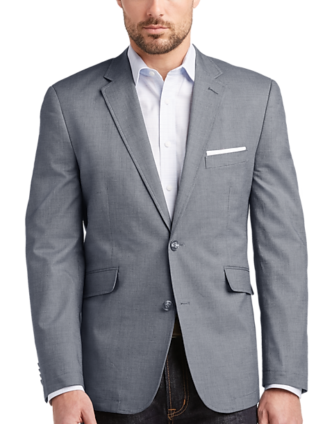 Joseph Abboud Navy Casual Coat - Men's Casual Coats | Men's Wearhouse