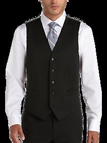 4ffdffc1dfd7 Mens Vests, Suits - Joseph Abboud Black Modern Fit Suit Separates Vest -  Men's Wearhouse