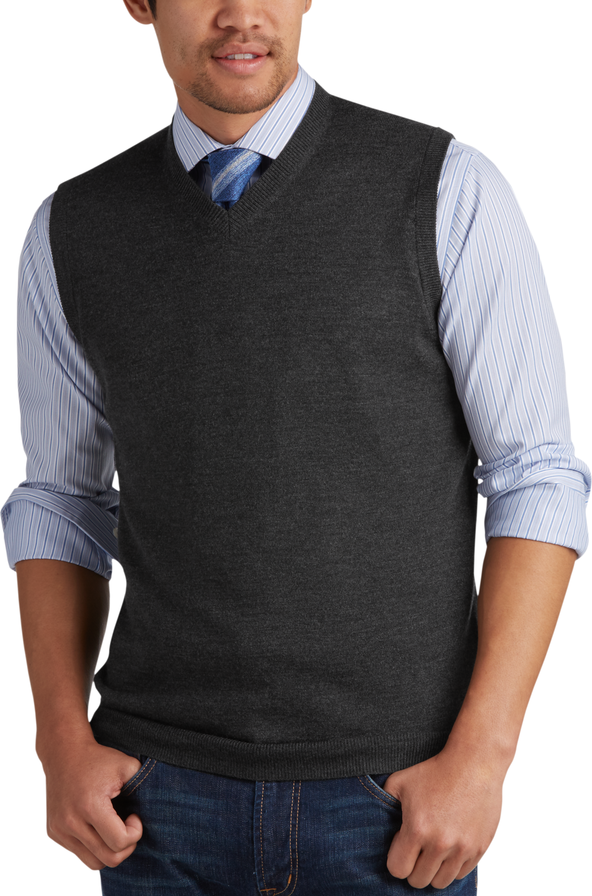 Big & Tall Sweater Vests - Men's Sweater Vests in XL | Men's Wearhouse