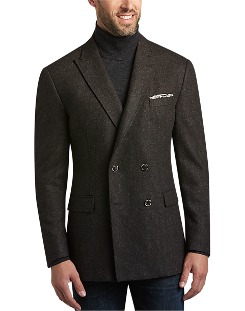 Joseph Abboud Brown Casual Coat - Men's Casual Coats | Men's Wearhouse