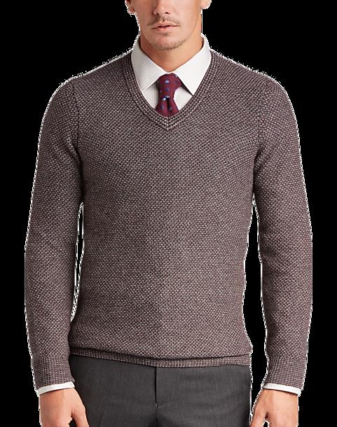 3b4c6ba6ed7 Joseph Abboud Berry V-Neck Sweater - Men s Sale