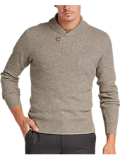 Display product reviews for Joseph Abboud Driftwood Button Shawl Sweater