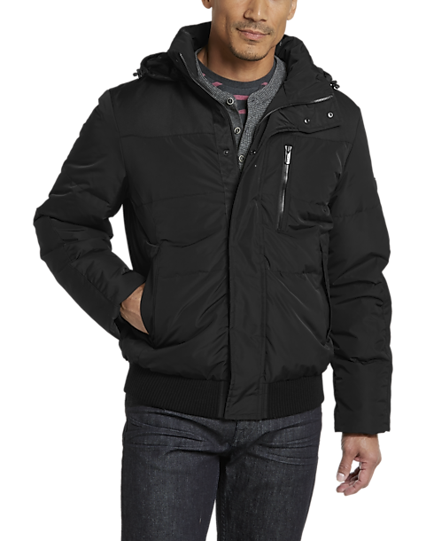 d01cd89a52a T-Tech by Tumi Black Quilted Jacket - Men's Brands | Men's Wearhouse