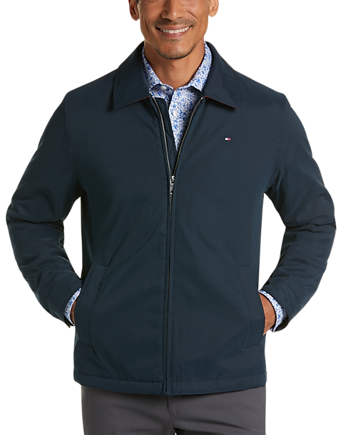 Tommy Hilfiger Men's Modern Fit Microtwill Casual Jacket (various colors/sizes)
