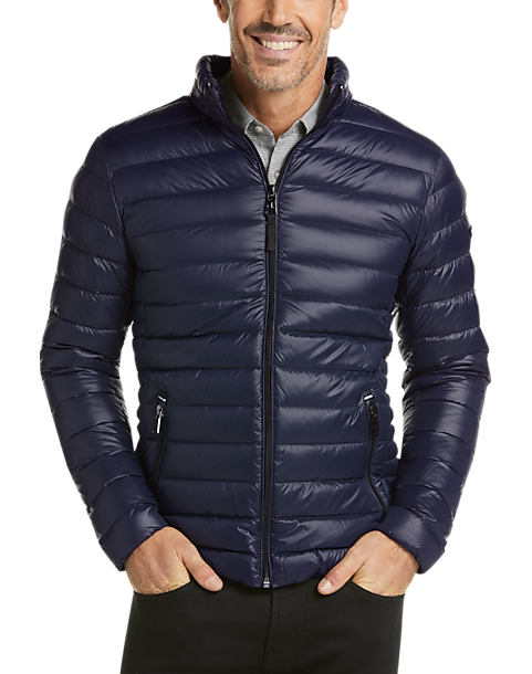 Calvin Klein Navy Modern Fit Packable Quilted Jacket