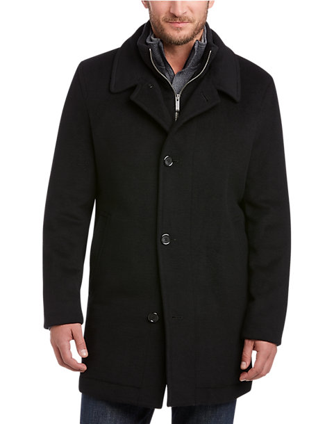 Pronto Uomo Black Classic Fit Car Coat - Men's Casual Jackets ...