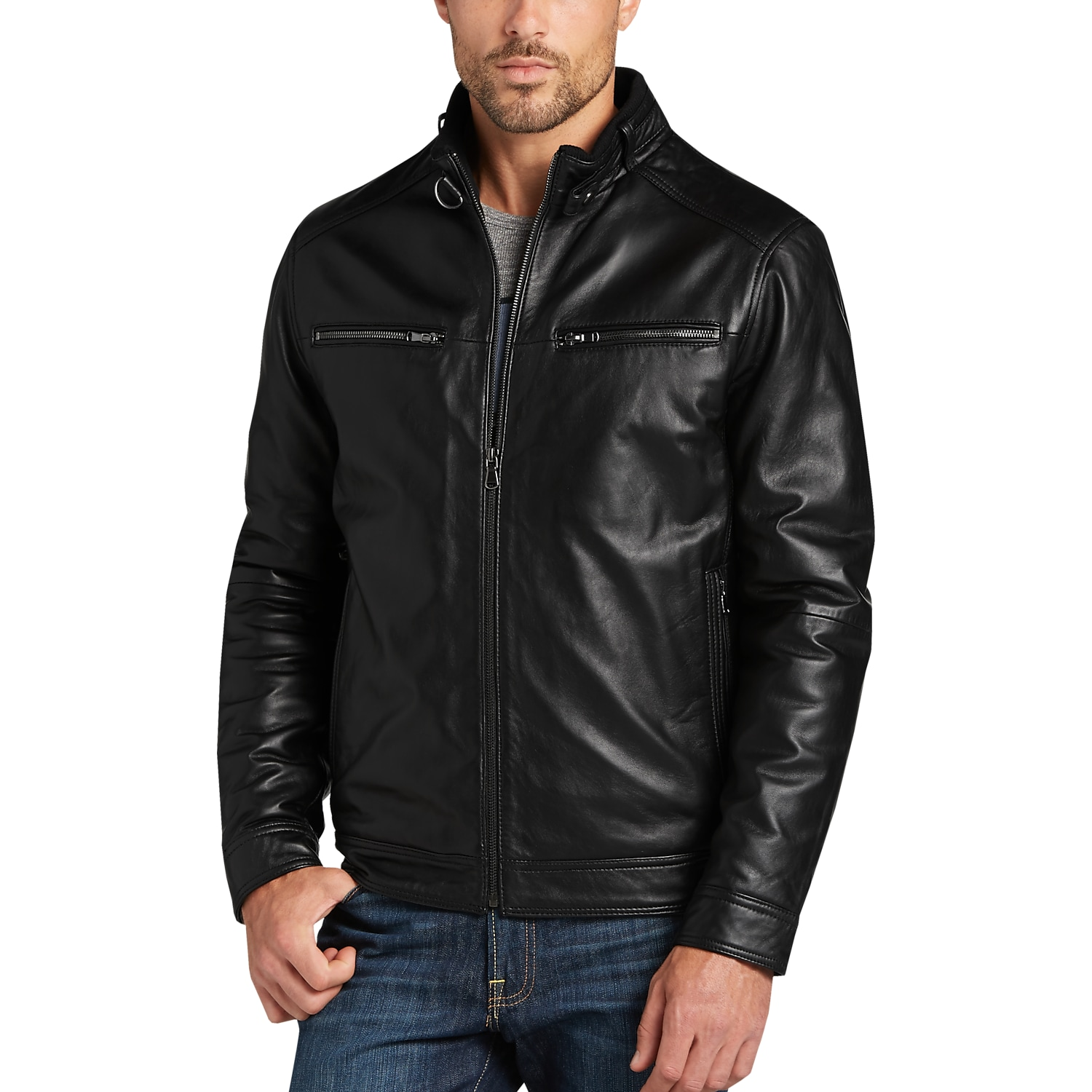 Leather Jackets - Men's Leather Jacket | Men's Wearhouse