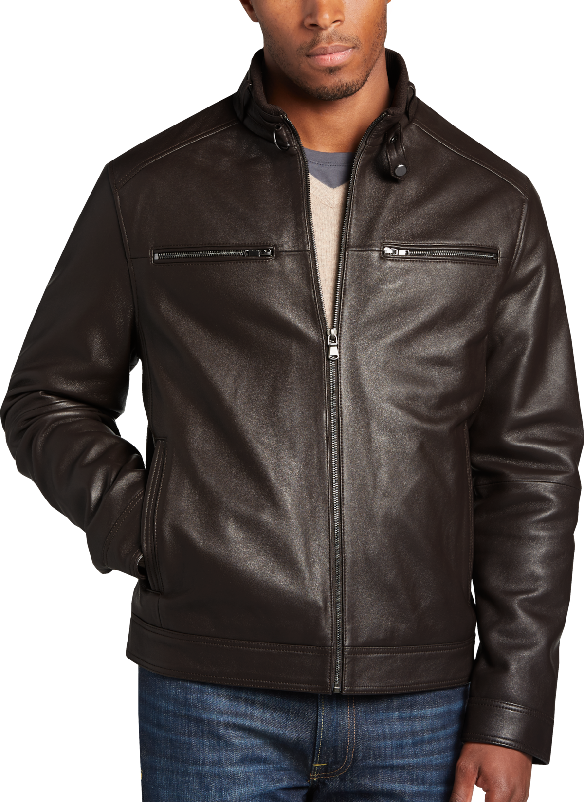 Leather Jackets Men S Leather Jacket Men S Wearhouse