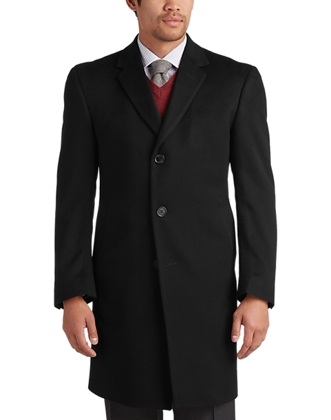 7c3464f68 Joseph Abboud Charcoal Gray Cashmere Modern Fit Topcoat