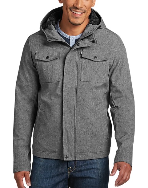 93f2be3154 Levi's® Gray Modern Fit Trucker Jacket - Men's Sale | Men's Wearhouse