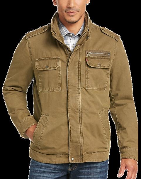 Levi s® Tan Modern Fit Field Jacket - Men s Outerwear  f3acd1fb9097