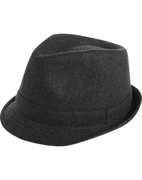 London Fog Gray Wool Blend Fedora - Men s  4947982278f
