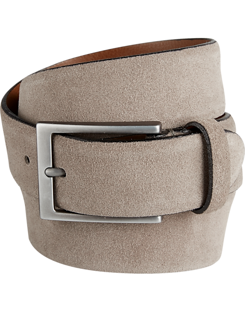 b360d9c019759 Joseph Abboud Gray Suede Belt - Men s Accessories