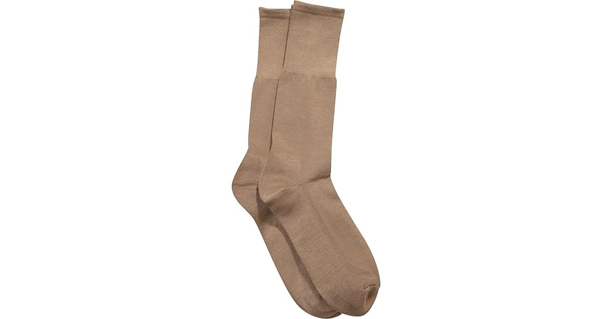 d322668178ea5 Pronto Uomo Brown Socks, Two Pair - Men's Accessories | Men's Wearhouse