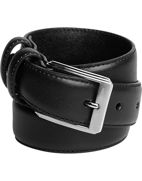 f0426a5dcca Men s Wearhouse Boys Black Leather Belt - Men s Accessories