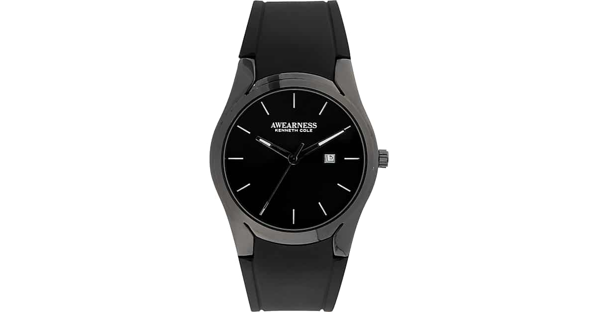 voeons watch for com amazon black all white men steel wrist stainless dp watches with calendar analog casual classic business quartz band and
