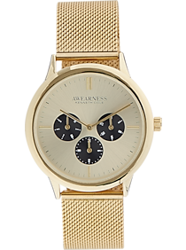 Awearness Kenneth Cole Mens Watch (Gold)