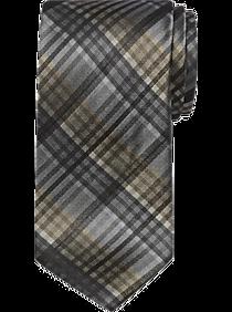 a0b6bd8e2d4c Mens Ties, Big & Tall - Awearness Kenneth Cole Gray Stripe Extra Long  Narrow Tie