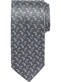 Mens Clearance - Joseph Abboud Taupe Pine Narrow Tie - Men s Wearhouse 2864add09
