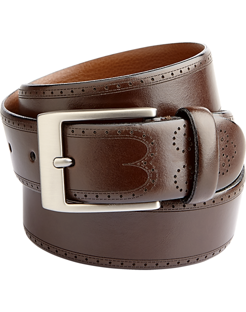 63f1f19d8423b Joseph Abboud Brown Belt - Men s Brown Shoes   Belts