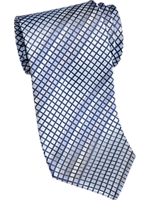 3-Pack Pronto Uomo Blue Grid Narrow Tie