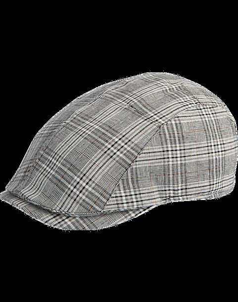 d5954c28 Free Authority Gray Plaid Ivy Hat - Men's Accessories | Men's Wearhouse