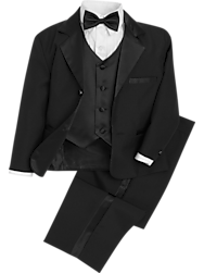 03224a79f3f1a Peanut Butter Collection Black Toddler s Tuxedo