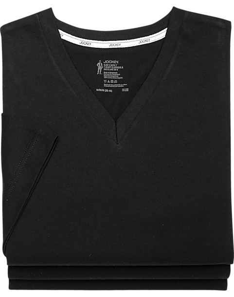 6af82820 Jockey Black Slim Fit T-Shirts (3 pack) - Men's Accessories | Men's ...