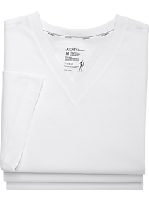 3 Pack Jockey White Slim Fit T-Shirts