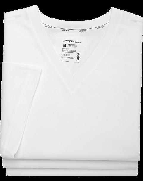 dba24c126058 Jockey White Slim Fit T-Shirts (3 pack) - Men's Accessories   Men's ...