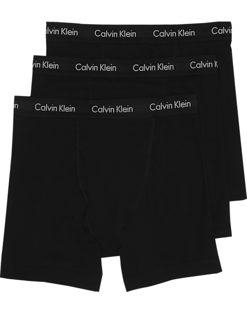 2115f5ec3b Calvin Klein Black Classic Fit Cotton Stretch Boxer Briefs