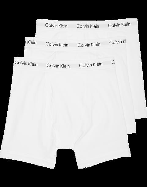 2ab671f696a Calvin Klein White Classic Fit Cotton Stretch Boxer Briefs