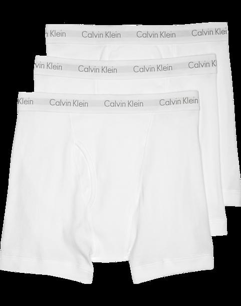 12e9a6363bd Calvin Klein White Cotton Classic Boxer Briefs