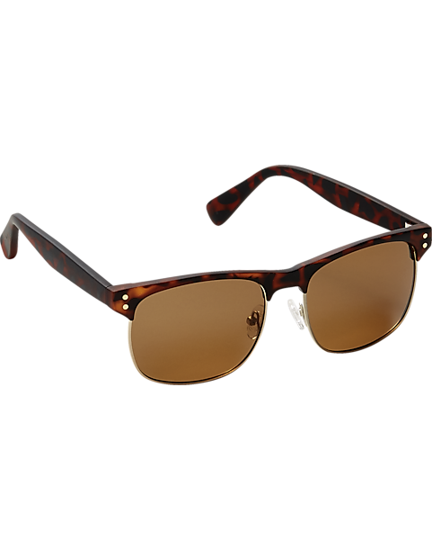 e5d98412396 Joseph Abboud Brown Tortoise Sunglasses - Men s Accessories