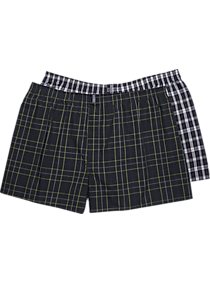 2-Pack Jockey Blue Plaid Full-Cut Boxers