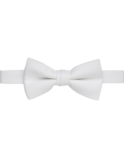 New formal men/'s pre tied Bow tie stripes formal wedding party prom gray