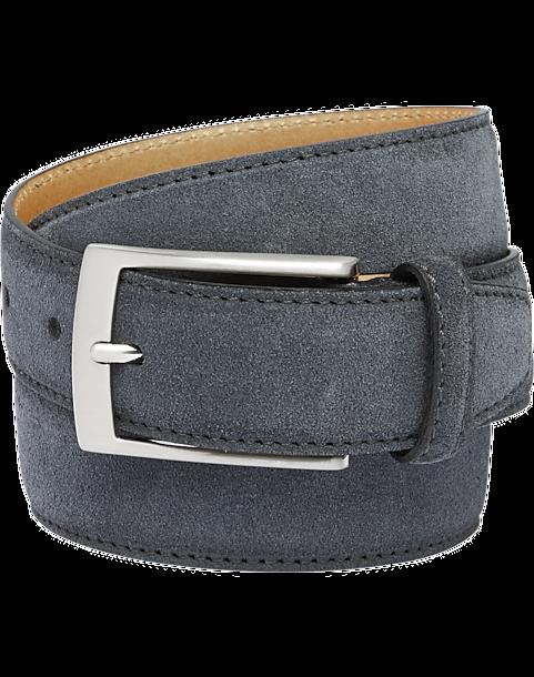 joseph abboud gray suede dress belt s belts