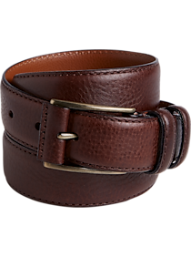 272a50d767204 Mens Big   Tall - Joseph Abboud Brown Belt - Men s Wearhouse