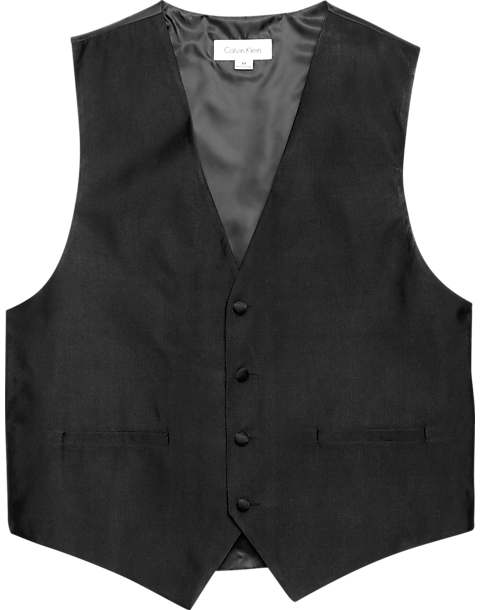 855095cb7c75ac Calvin Klein Black Formal Vest - Men s Big   Tall