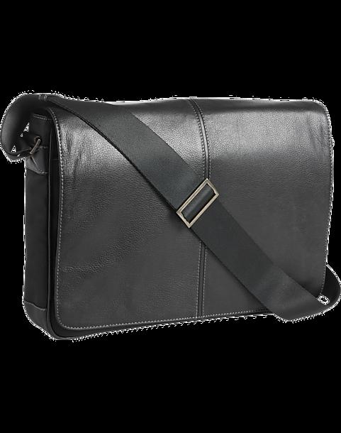 5ba49721e800 Joseph Abboud Black Messenger Bag - Men s Bags   Luggage