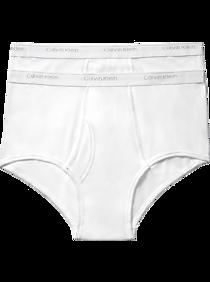 785dfdbfdf6 Mens Underwear, Accessories - Calvin Klein White Cotton Classic Big & Tall  Underwear, 2