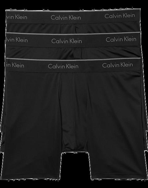 b220bfb34523 Calvin Klein Black Classic Fit Microfiber Boxer Briefs