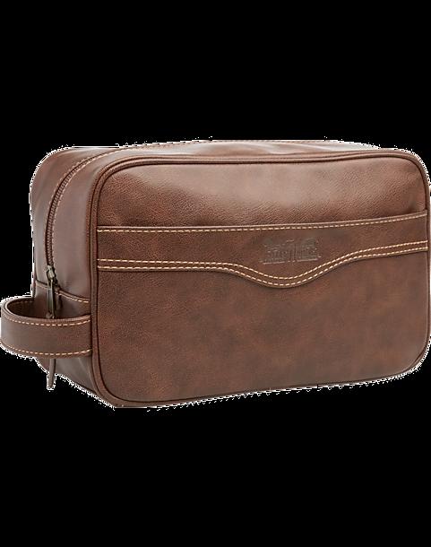 Levi S Brown Dopp Kit Bag Mens Cologne Grooming Accessories Men Wearhouse