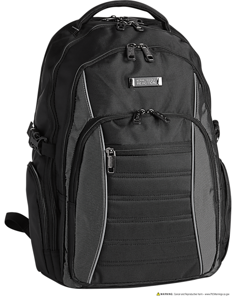 Kenneth Cole Black Backpack Mens Accessories Clothing Men S Wearhouse