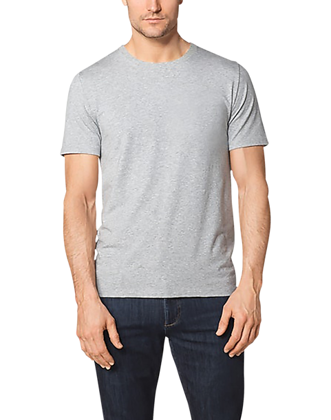7b79c891a24 Tommy John Second Skin Essential Gray Crew Neck T-shirt - Men's ...
