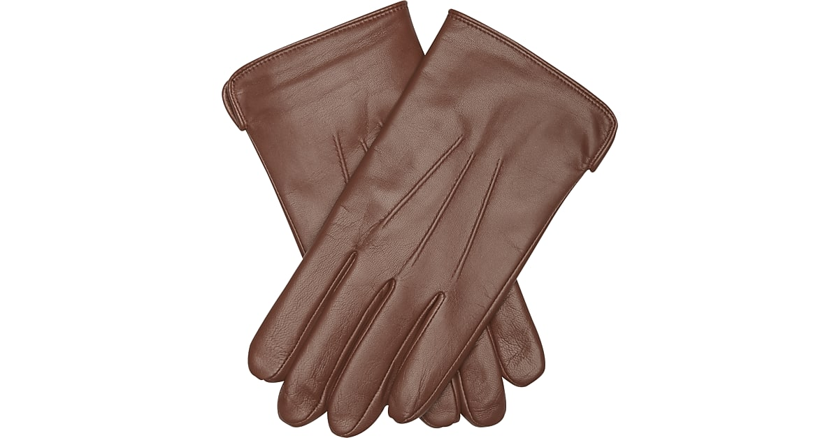 b51027eda9c0b Joseph Abboud Brown Leather Gloves - Men s Accessories